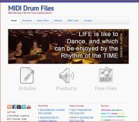 Free MIDI Drum Tracks